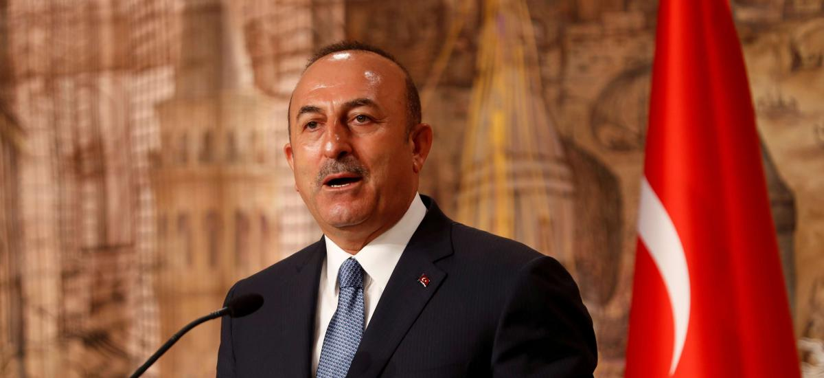 Turkish Foreign Minister Mevlut Cavusoglu speaks during a news conference in Istanbul, Turkey October 30, 2018. REUTERS/Murad Sezer