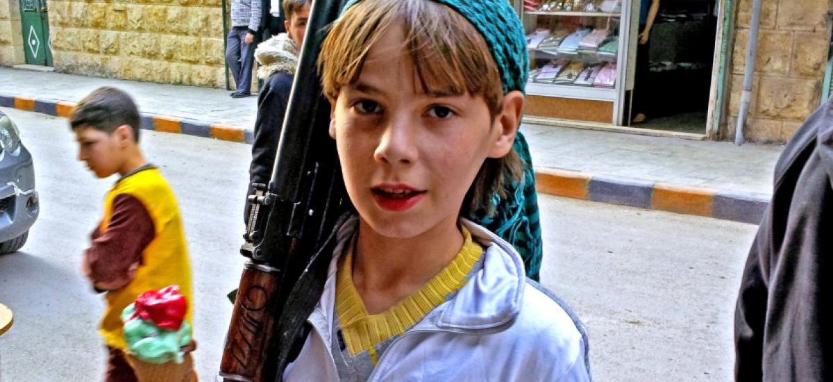 Child Fighter Syria