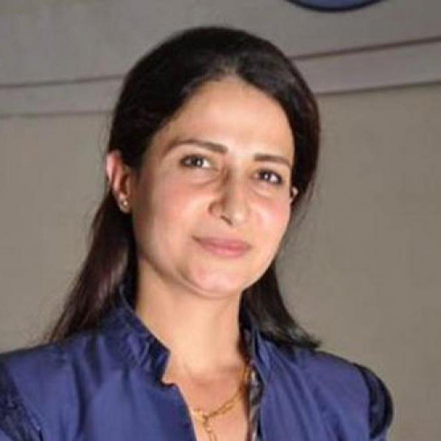 Kurdish politician Havrin Khalaf, who was executed in northern Syria